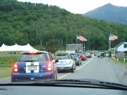 MOT2003 lining up to ascend Mount Washington