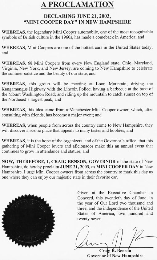 Minisontop Proclamation Mi Gbmini