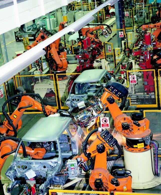 MINI Plant Oxford robot production line