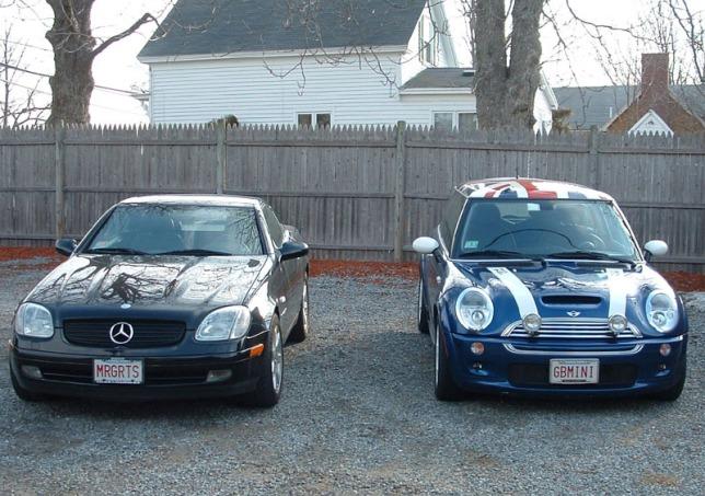 GBMINI#2 with Mercedes SLK