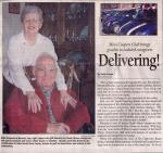 Coopers For Caregivers Newspaper article