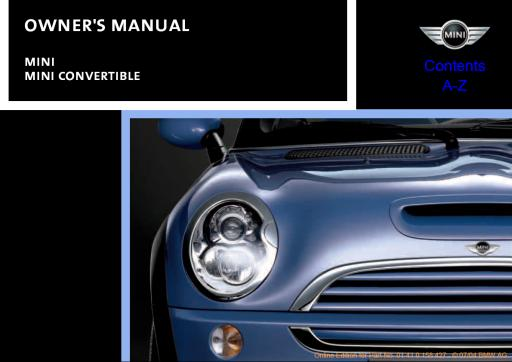 2005 mini cooper owners manual how to and user guide instructions u2022 rh taxibermuda co 2005 mini cooper s owners manual pdf 2007 Mini Cooper