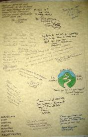 MINIsOnTop MOT2005 proclamation signed by everyone