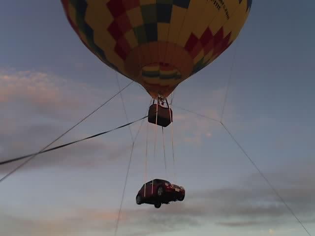 Flying MINI at Sandia (phone pic)