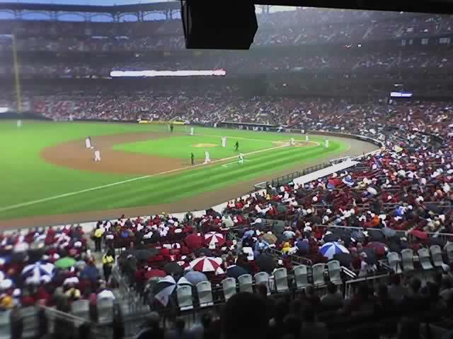 Free tickets courtesy of MINI USA, to tonights St Louis Cardinals game at Busch Stadium (phone pic)