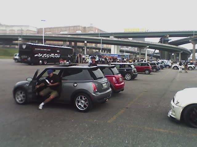 Memphis departure point (phone pic)