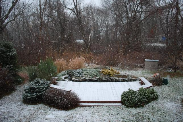 First snow of 2008/9