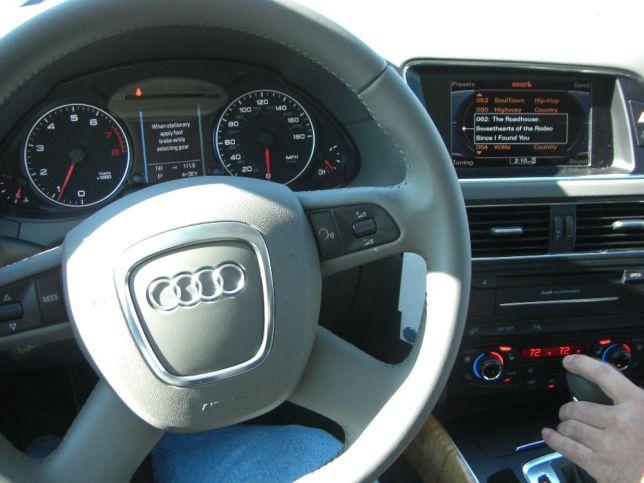 Audi Q5 test drive