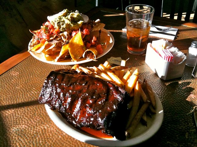 Ribs and Nachos from the Farm