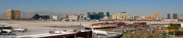 Las Vegas strip overview