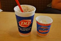 Lunch: Texas-sized ice-cream