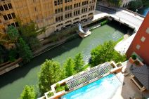 Hotel view in San Antonio