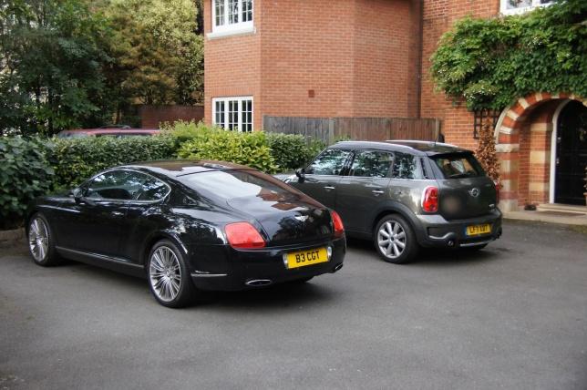 Bentley and MINI Countryman