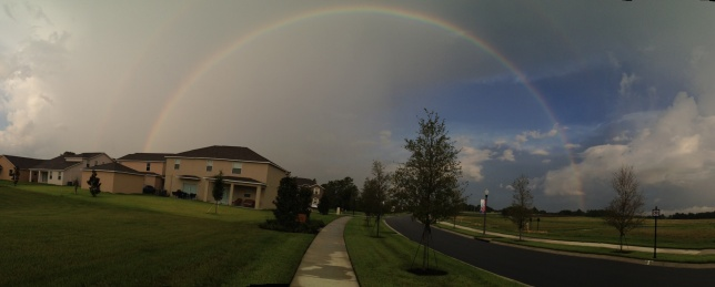 Rainbow over Independence