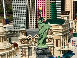 Legoland New York New York Statue Of Liberty